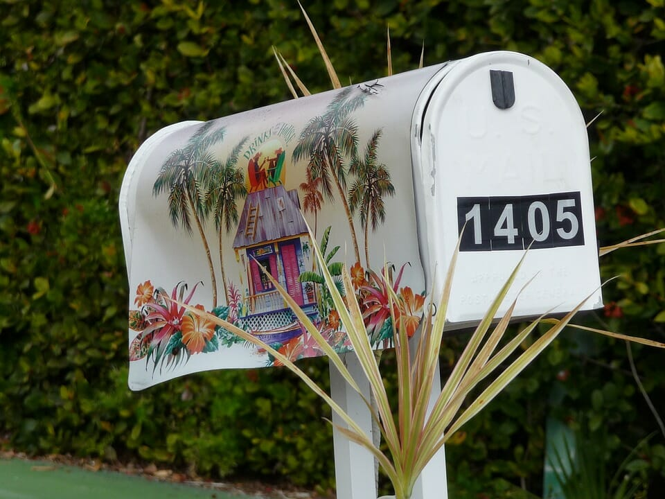 Получение почтового адреса