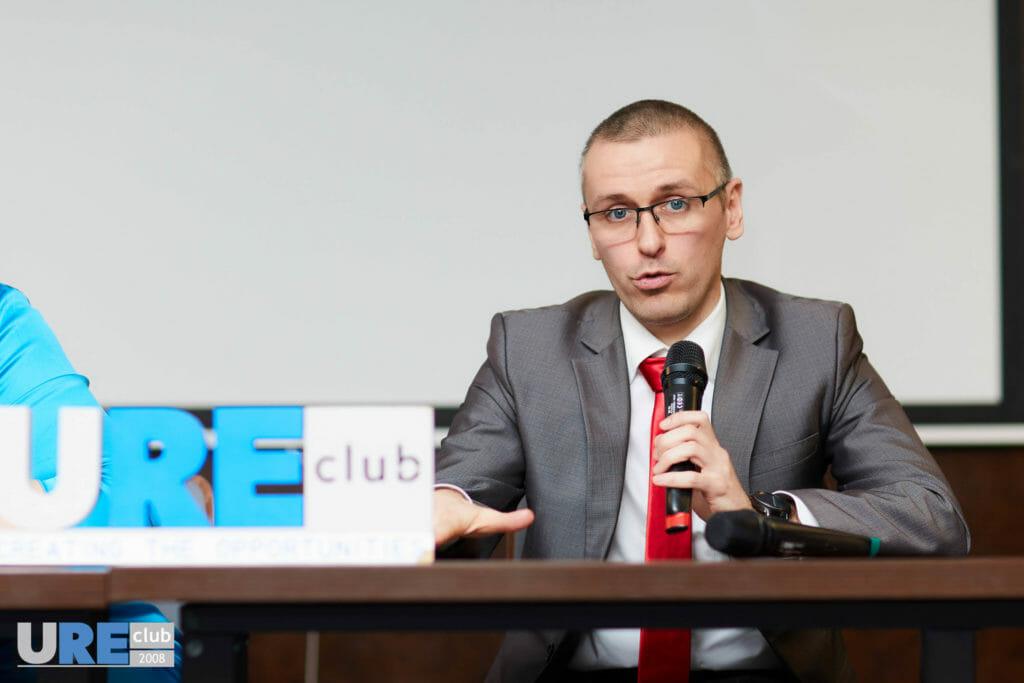 Максим Полишкевич в юридическом клубе