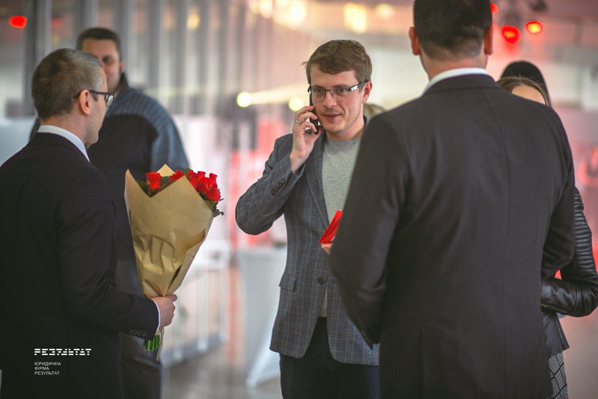 Vladyslav golub in birthday law firm
